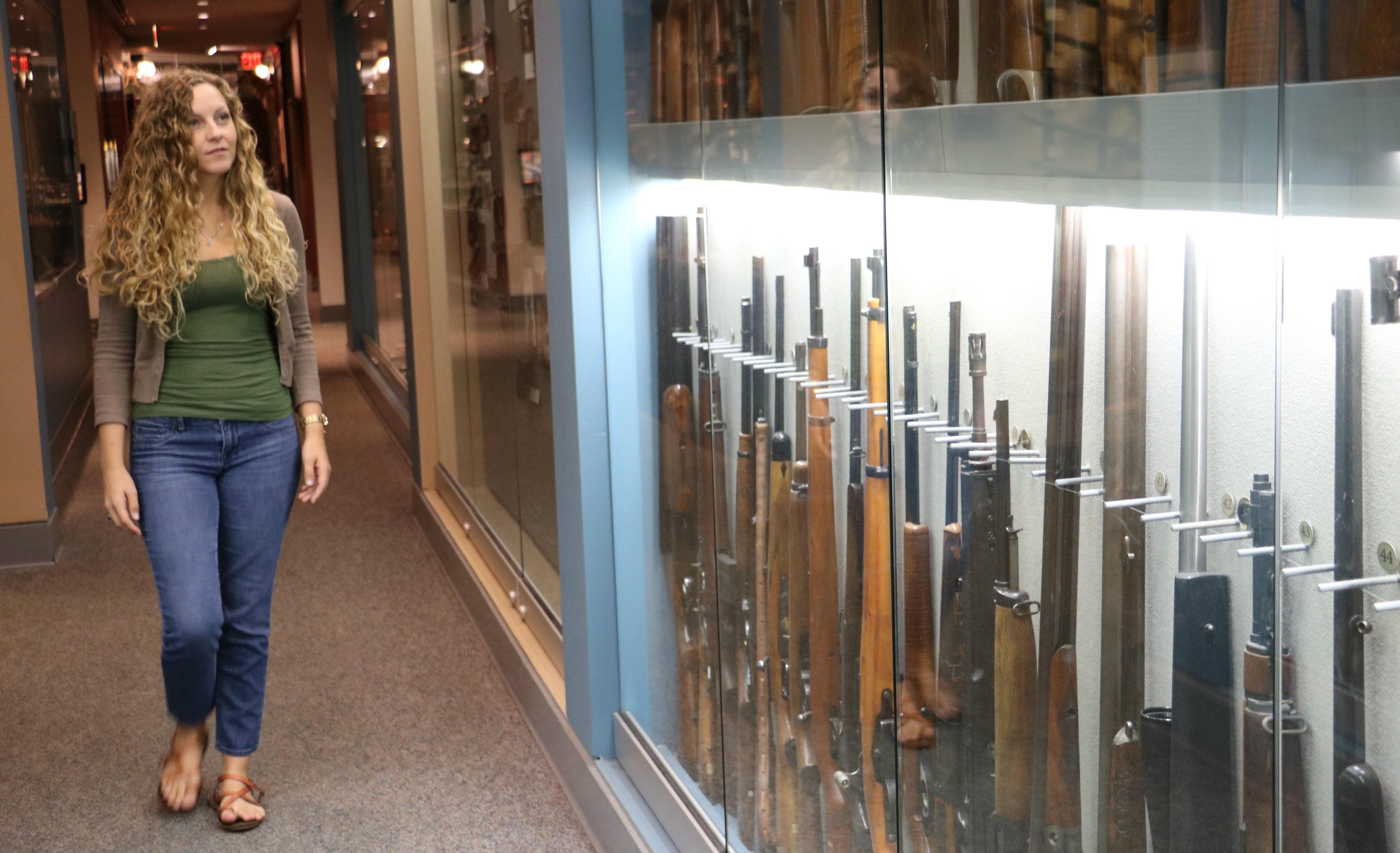 nicole sanders hallway nra museum embed