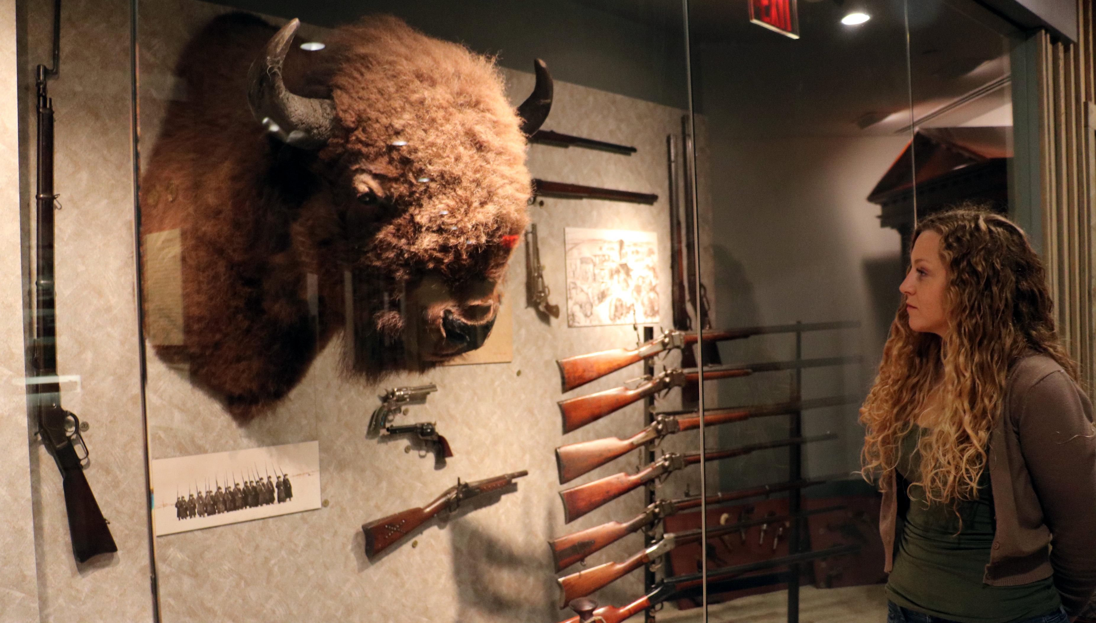nicole sanders bison nra museum embed