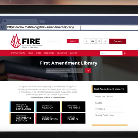 what all the first of all amendment means for you to all of us essay