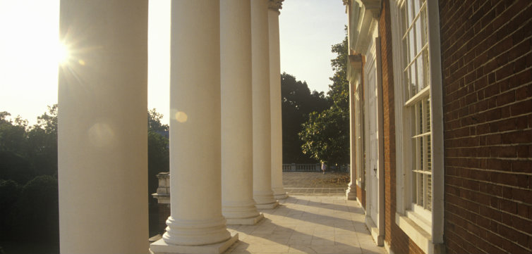 u of virginia uva columns feat