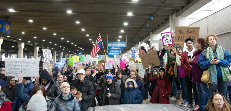 Philadelphia Itl Airport Protest Sunday Jan 29 2017 CREDIT Brett Harris - Feat
