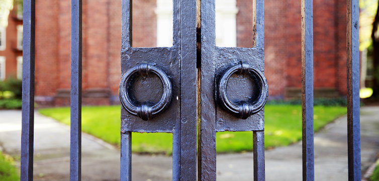 iron gates harvard campus feat