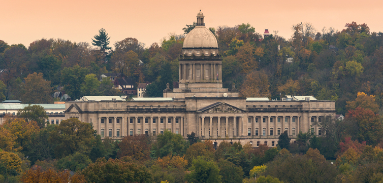 Kentucky State Capitol building feature