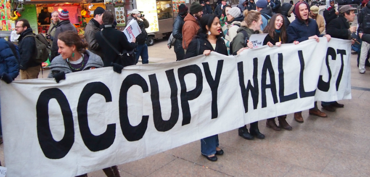 occupy wall st protest feature