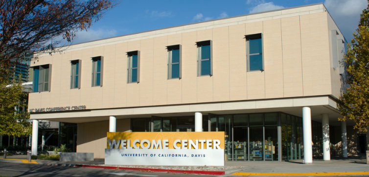 uc california davis welcome center  CREDIT davidkrug Shutterstock.com feat