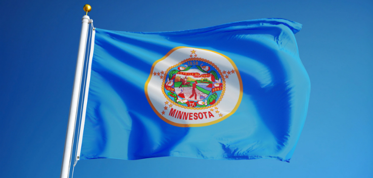 Minnesota flag feature