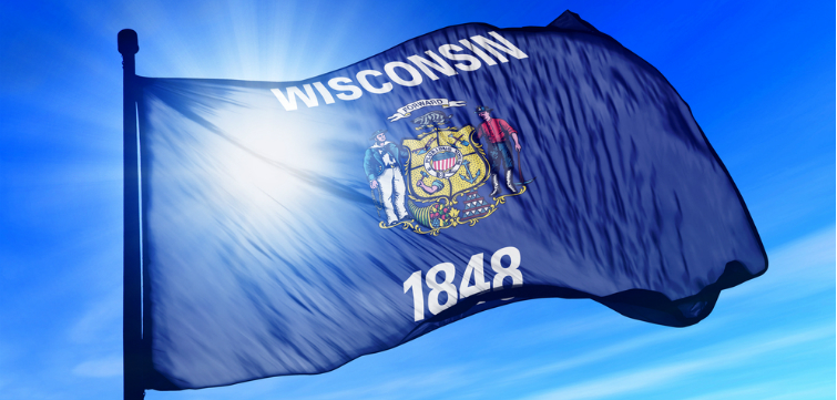 wisconsin flag feature