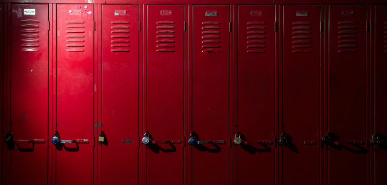 lockers high middle school feat