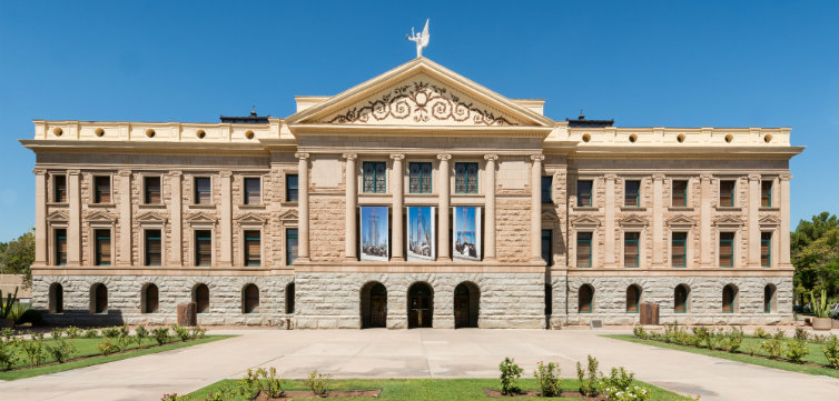 Arizona State Capitol in Phoenix feat