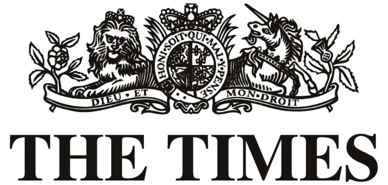 The Times of Londong Logo feature