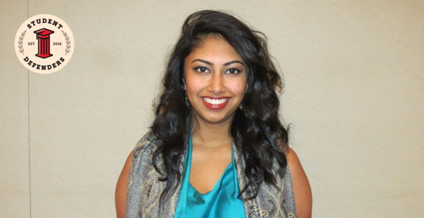 Student Defender Profile: Marvi Ali, chair of William & Mary's Conduct and Honor Advisor Program