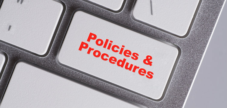 policies and procedures keyboard feat