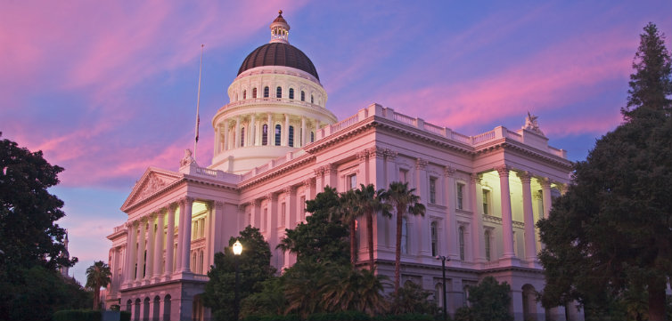 California State Capitol in Sacramento feat