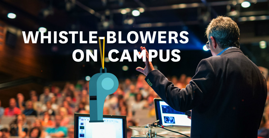 Whistleblowers on campus (VIDEO)