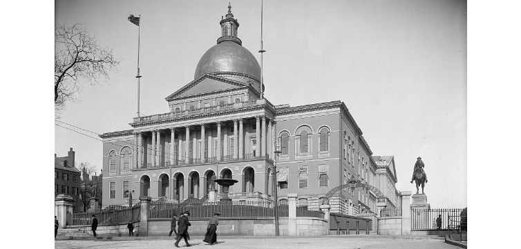 Massachusetts State House feature