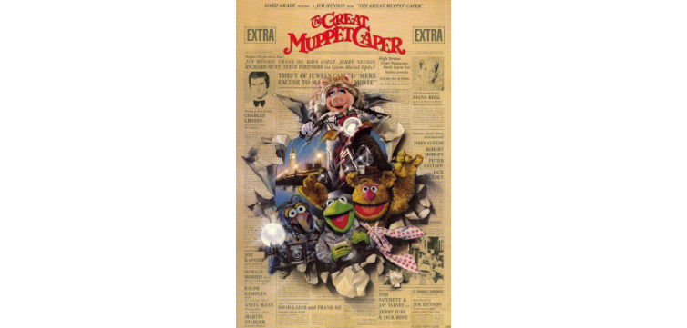 The Great Muppet Caper feature