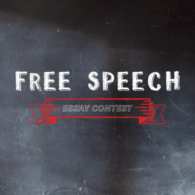Enter FIRE's Free Speech Essay Contest for high school students!