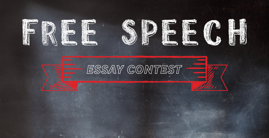 High school students: Enter FIRE's Free Speech Essay Contest, win money for college!