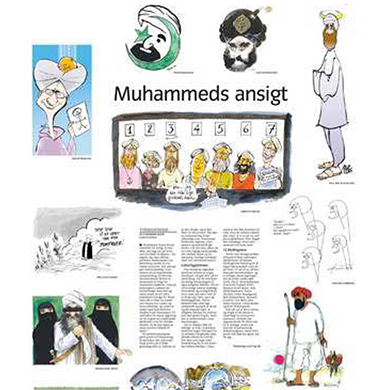 Mohammed Cartoon Censorship