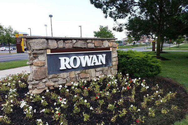 Rowen University sign