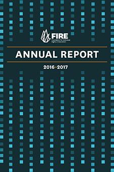 FIRE Annual Report 2016-17