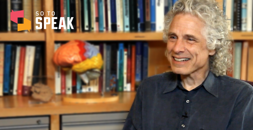 So to Speak podcast: Harvard professor Steven Pinker