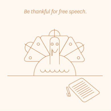 Thankful for free speech? Enter FIRE's high school essay contest!