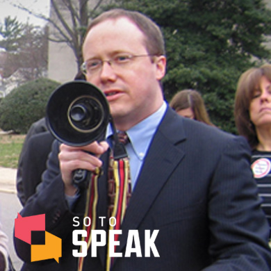 So to Speak podcast: Institute for Justice President and General Counsel Scott Bullock