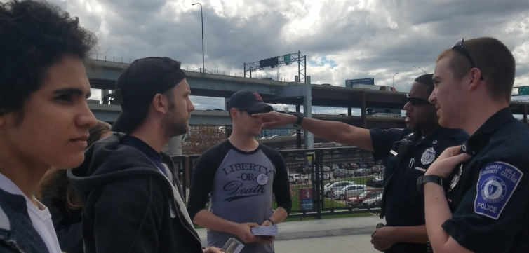 Victory Students Can Hand Out Constitutions At Bunker Hill