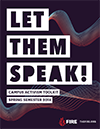 Let Them Speak: Spring 2018 Campus Activism Toolkit