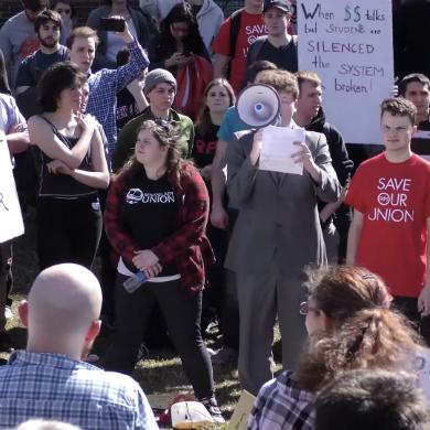 Rensselaer Polytechnic Institute doubles down on sidewalk censorship
