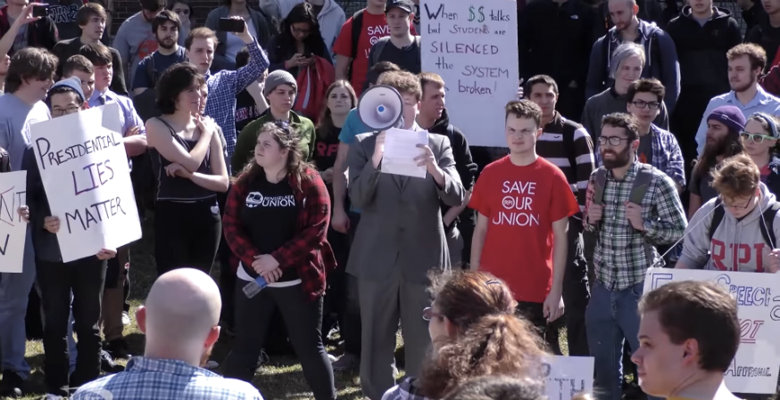 The state of free speech at RPI: Not good
