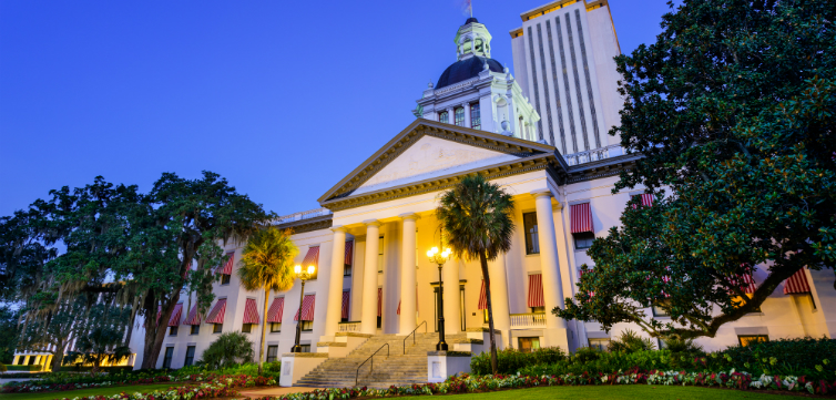 Florida's Old Capitol building in Tallahassee.