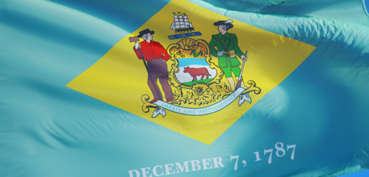 Delaware state flag_Railway fx_Shutterstock feature