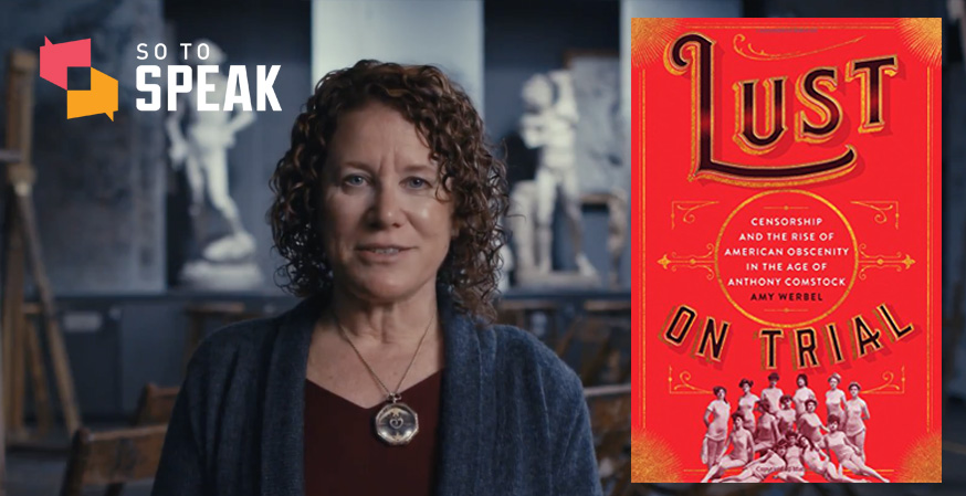 So to Speak podcast: 'Lust on Trial' with Amy Werbel