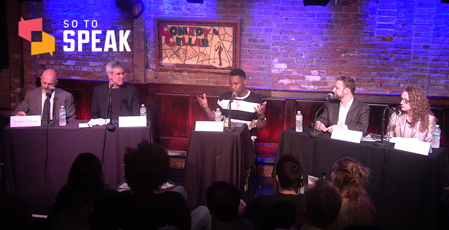 So to Speak podcast: Debating 'Is there a campus free speech crisis?' with Sullivan, Haidt, Nossel, Sachs, & Foster