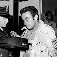 Lenny Bruce, a groundbreaking comedian, was subjected to six obscenity trials for the words he used in his shows.