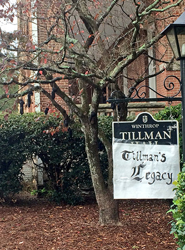 Winthrop threatened a student with suspension and expulsion over her involvement in an anti-lynching art display.