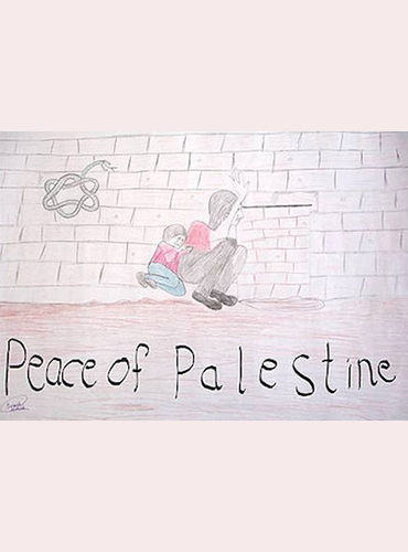 "A student's exhibition featuring artwork by Palestinian teenagers was removed by Brandeis administrators over complaints that it was ""one-sided."""