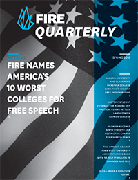 FIRE Spring Quarterly 2018