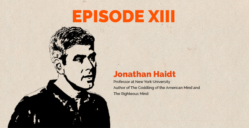 Clear and Present Danger podcast – Episode 13: Expert opinion – Jonathan Haidt