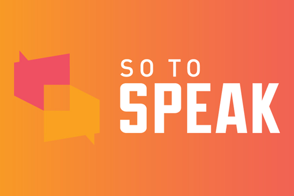 So to Speak: The Free Speech Podcast logo