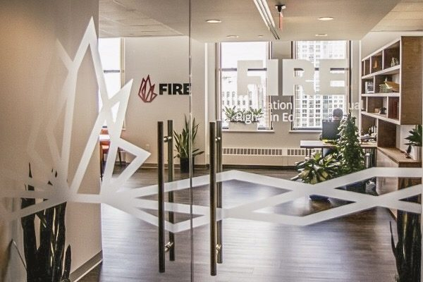 FIRE office entrance, Philadelphia, PA