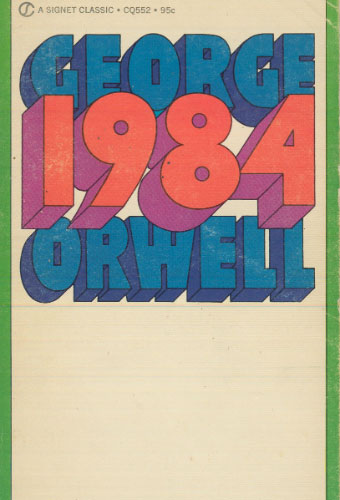 Nineteen Eighty-Four/George Orwell