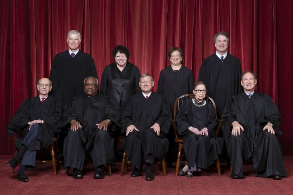 Roberts Court Group Photo