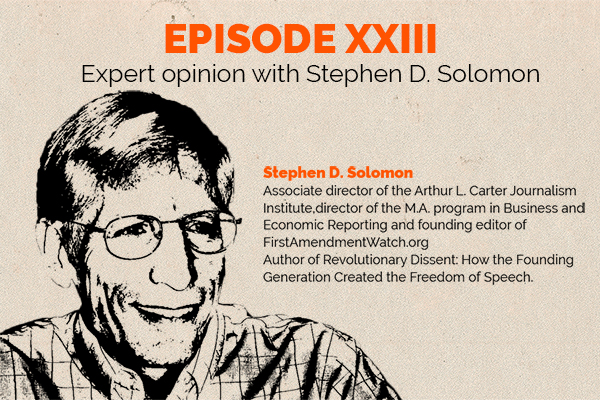 Clear and Present Danger – Episode 23: Expert Opinion – Stephen Solomon