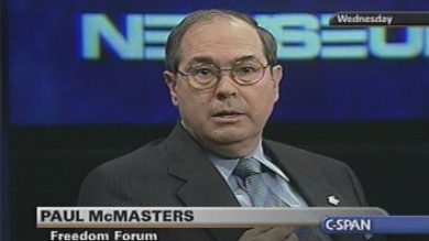 Paul McMasters (Credit: C-Span)