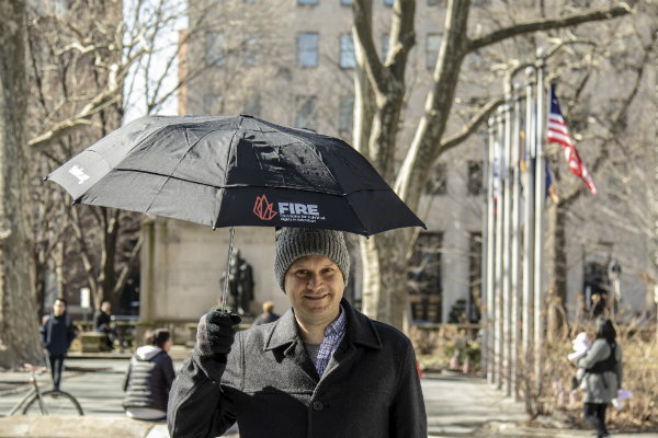 Help FIRE brave any storm — join our Monthly Giving Program and get an exclusive FIRE umbrella!
