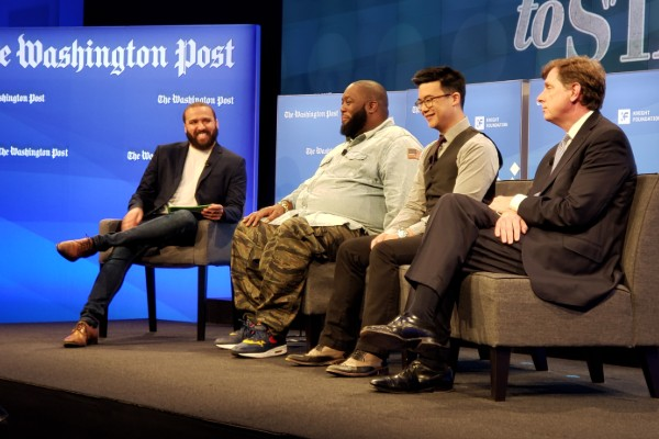 Washington Post Live's 'Free to State': Killer Mike, The Slants, and more (VIDEO)