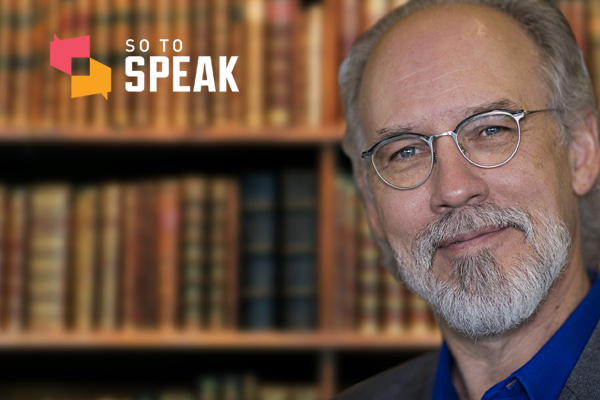 So to Speak podcast: Defending libraries with James LaRue